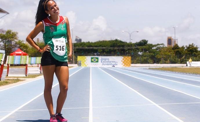 Anny de Bassi nos Jogos Escolares da Juventude (Foto: William Lucas / Inovafoto / COB)